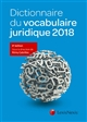 DICTIONNAIRE DU VOCABULAIRE JU